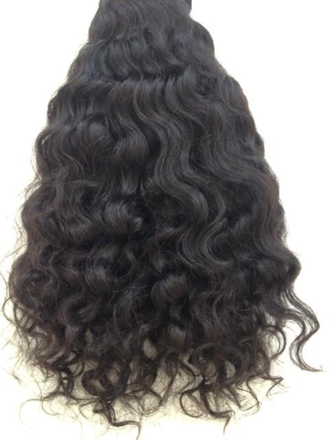 Indian Wavy Hair Extensions 100 Percent Human Hair